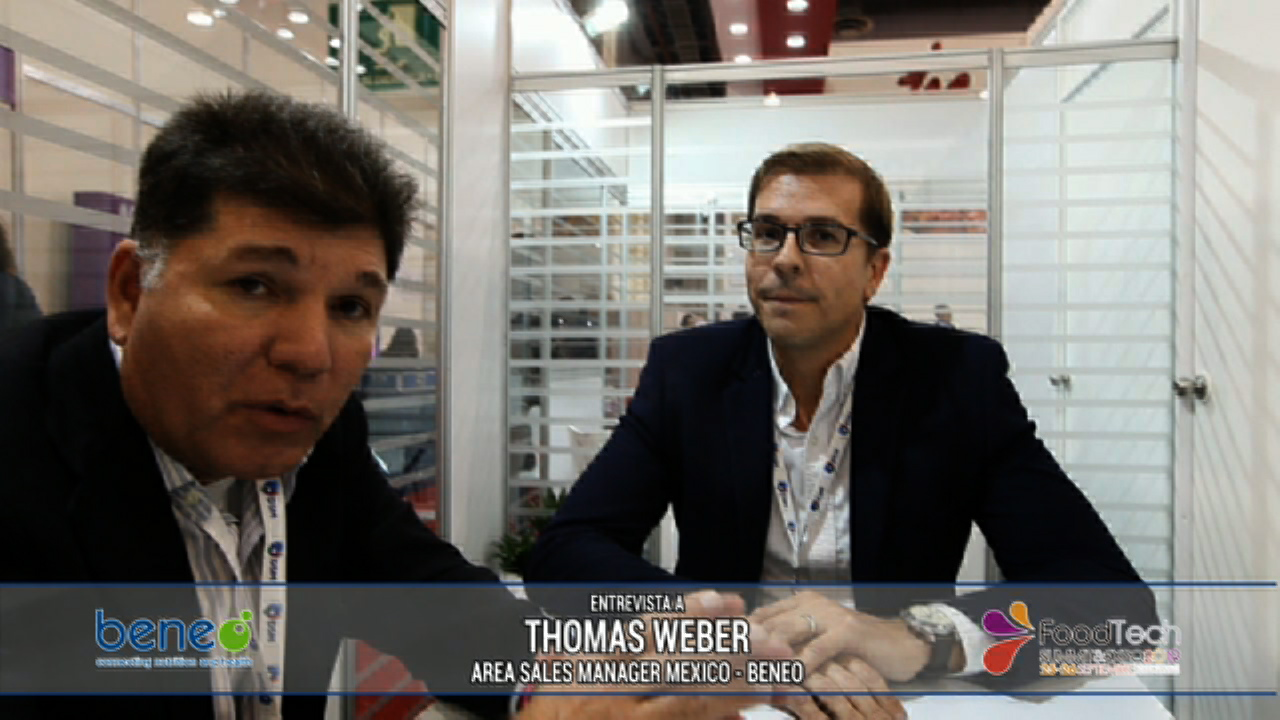 Thomas Weber en el FoodTech Summit 2019 - Beneo