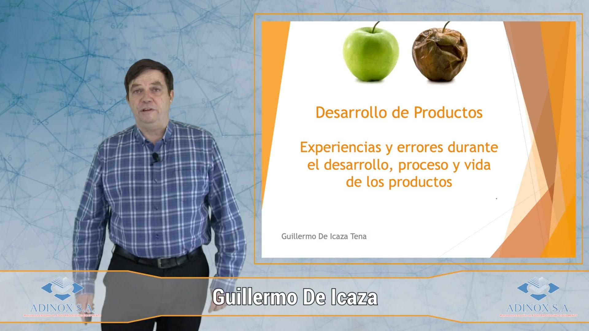 GUILLERMO DE ICAZA - Desarrollo de Nuevos Productos. Consideraciones para una Vida Útil
