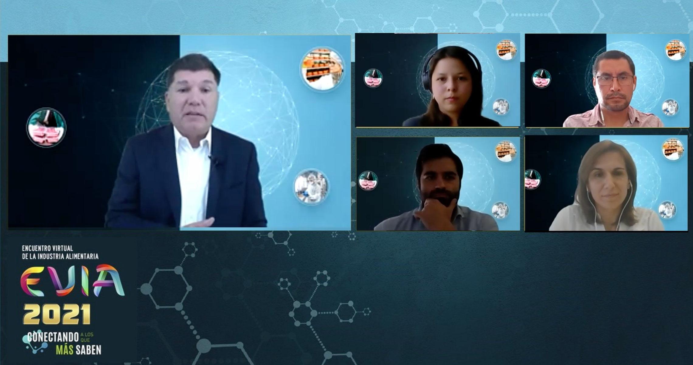 """Mesa redonda """"Nuevas tecnologías digitales en el mundo alimentario"""""""