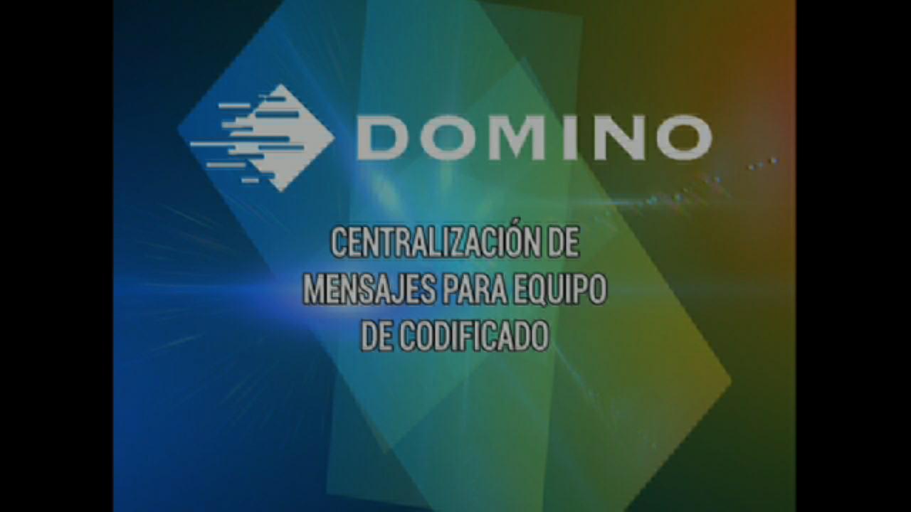 Centralización de Mensajes para Equipo de Codificado - Domino Printing